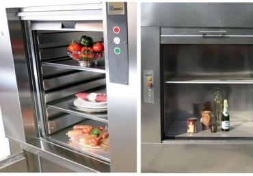 Sự khác nhau giữa thang nâng thức ăn và thang máy tải khách