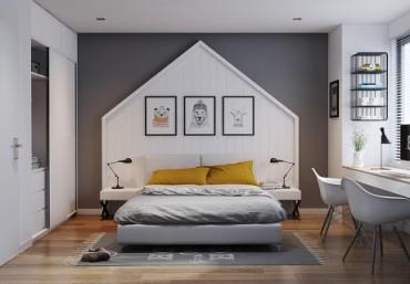Cách Đặt Giường Trong Phòng Ngủ Hợp Phong Thủy 2021