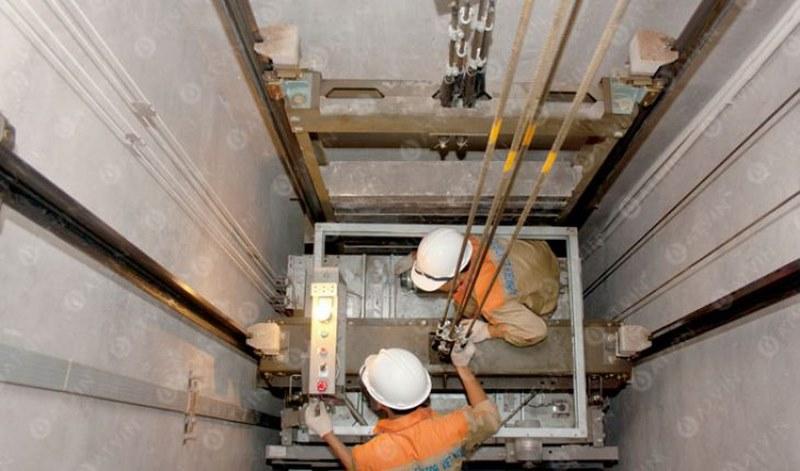 Không chú trọng đến việc bảo trì thang máy tải thực phẩm