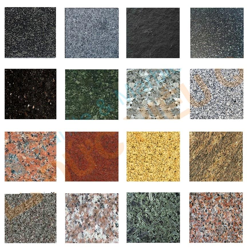 Mẫu đá hoa cương dùng làm đá ốp cho thang máy