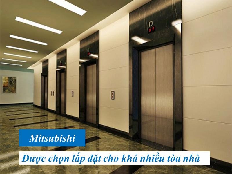 thông số thang máy Mitsubishi 450kg