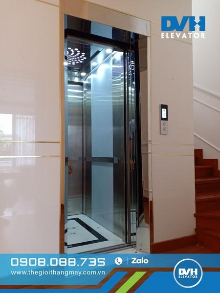 tìm hiểu báo giá thang máy Fuji 450kg