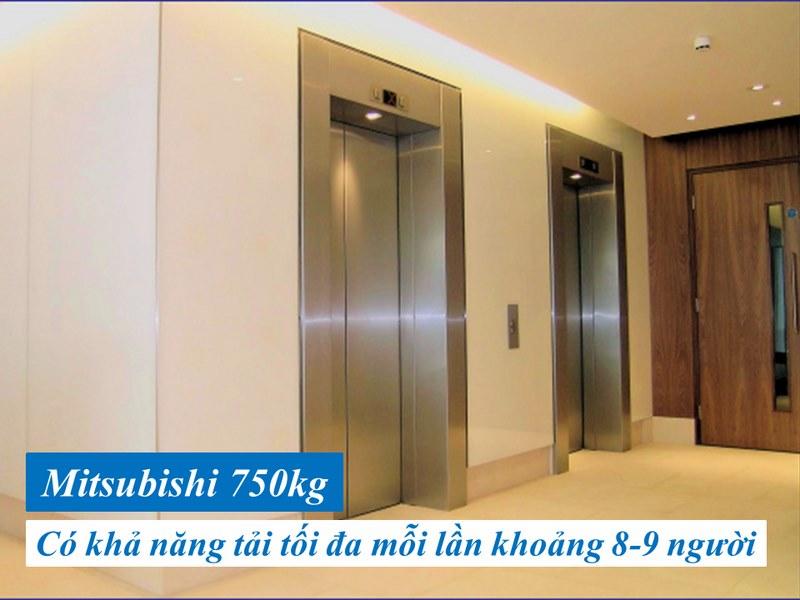 tìm hiểu về báo giá thang máy mitsubishi 750kg