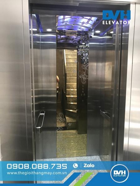 tìm hiểu về kích thước thang máy 450kg