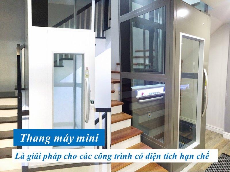 tìm hiểu về kích thước thang máy mini