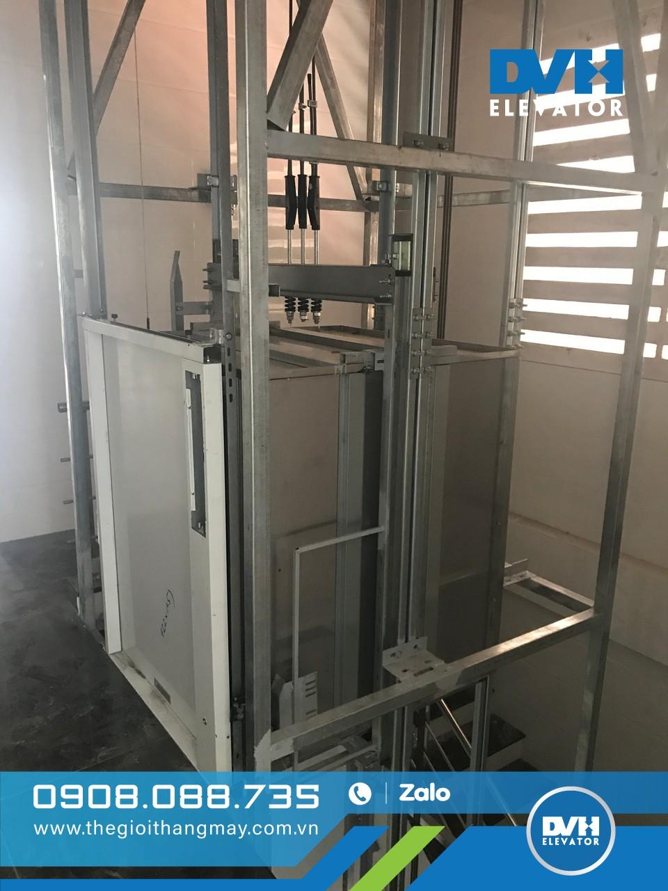 Quy trình lắp đặt thang máy tải thực phẩm đúng tiêu chuẩn
