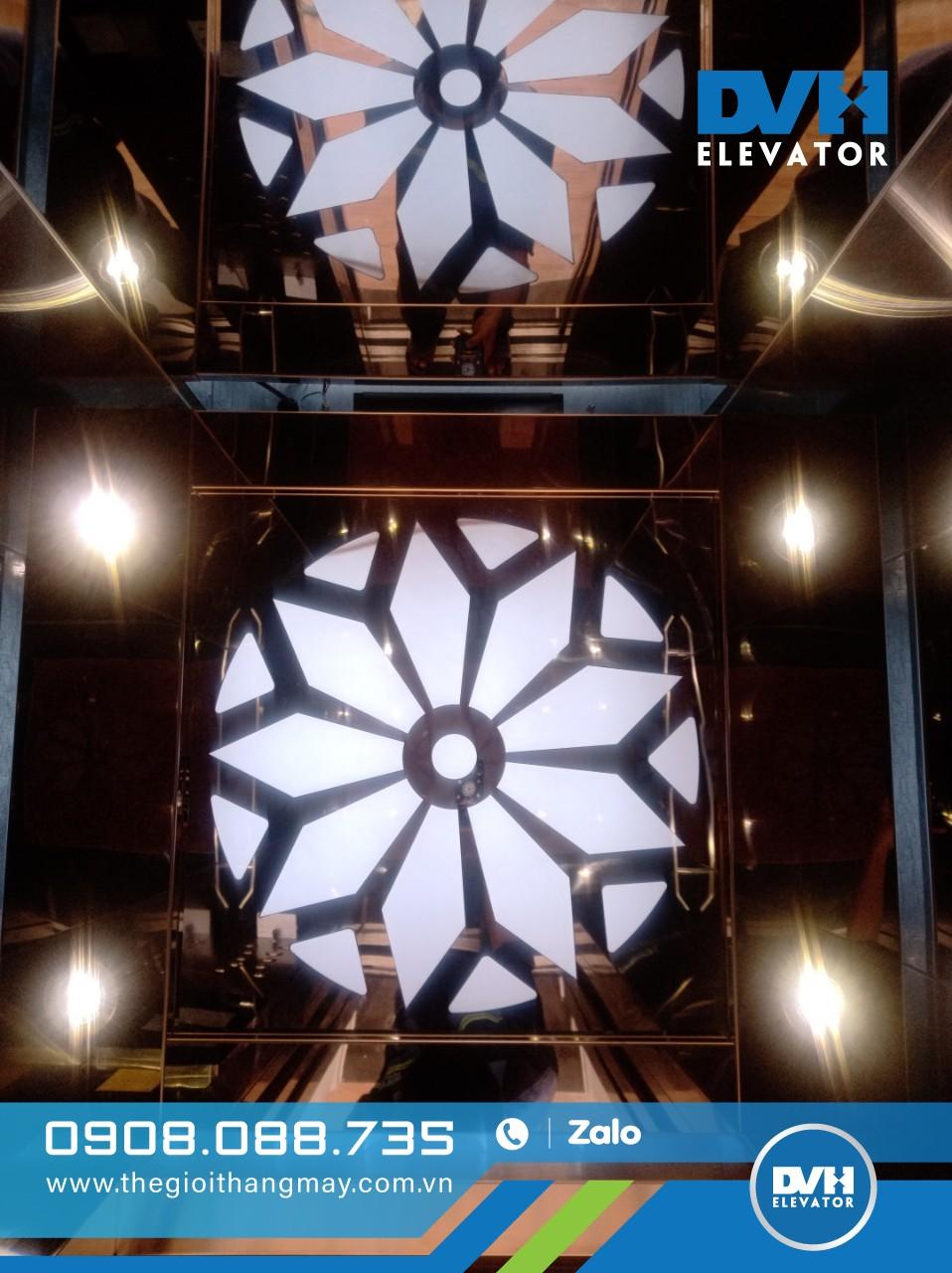 Thang máy Fuji do đội ngũ Thế Giới Thang Máy thi công