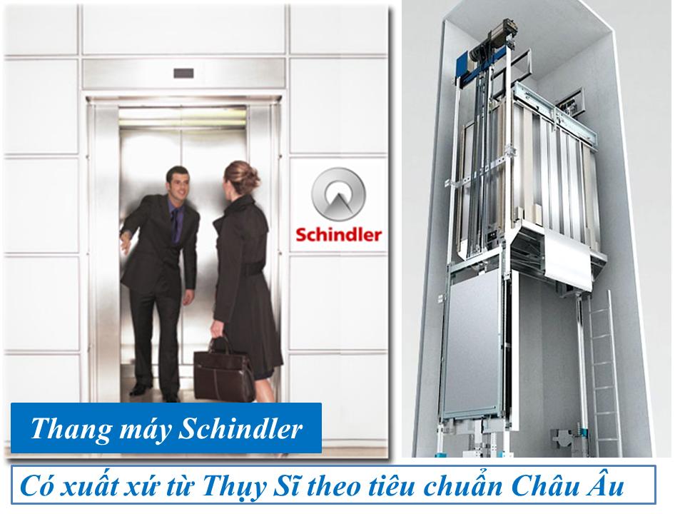 Thang máy Schindler có chất lượt vượt trội nhưng giá cũng khá cao