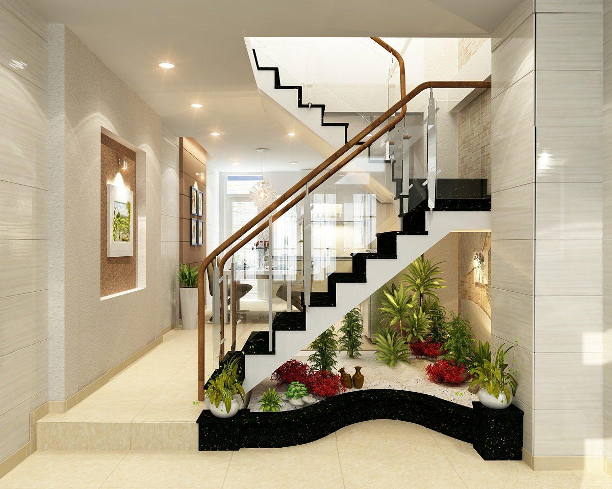 Cách hoá giải toilet dưới cầu thang